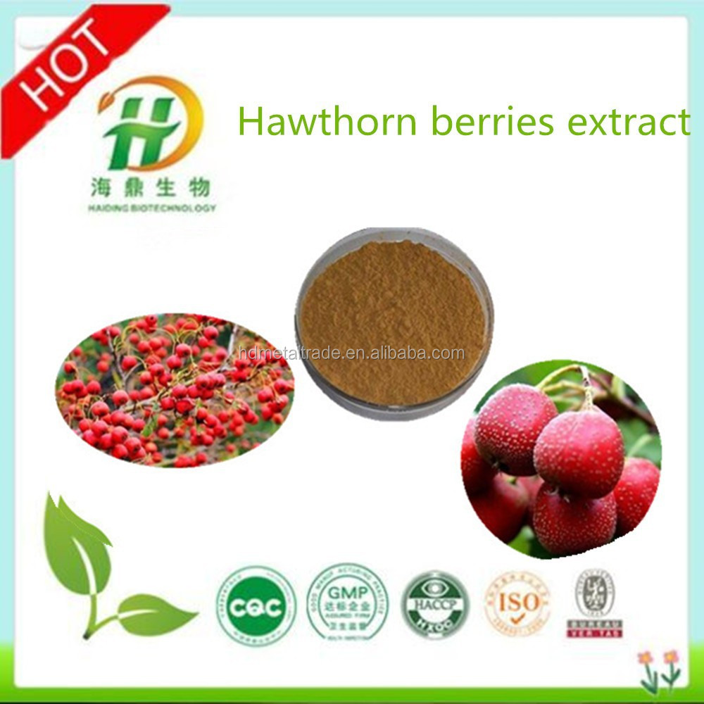 GMP HALAL 100% Natural Hawthorn Berry Extract/Flavones(10%~50%)(UV)