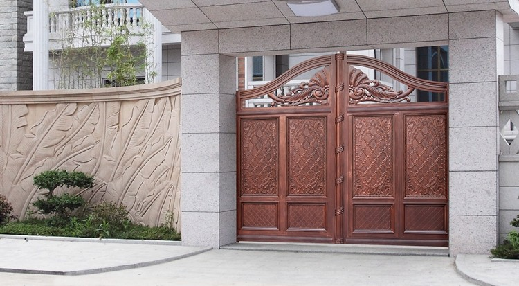 Latest Modern Steel Driveway Indian House Main Gate Colors Designs ...