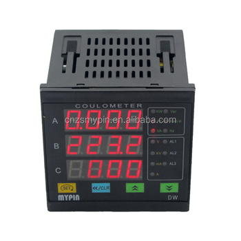 DW series digital power multifunction volt ammeter monitoring measuring energy voltmeter detector electricity meter
