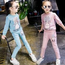 zm41424a children wear 2016 cartoon pattern cotton kids clothing set