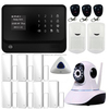 2015 Intelligent phone mobile APP control wifi gsm alarm system & wireless home security GPRS alarm system