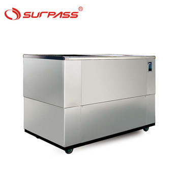 Direct Cooling System Stainless Steel Cold Water Cabinet