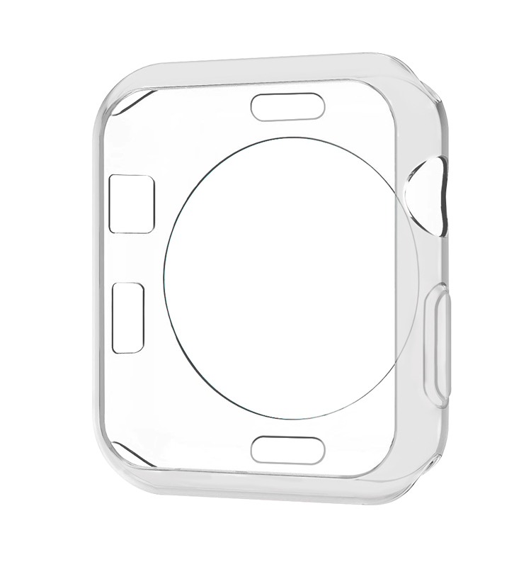For Apple Watch Case .38mm 42mm, Soft TPU  Protector iWatch Cover for Apple Watch Series 3,Series 2, Series 1,
