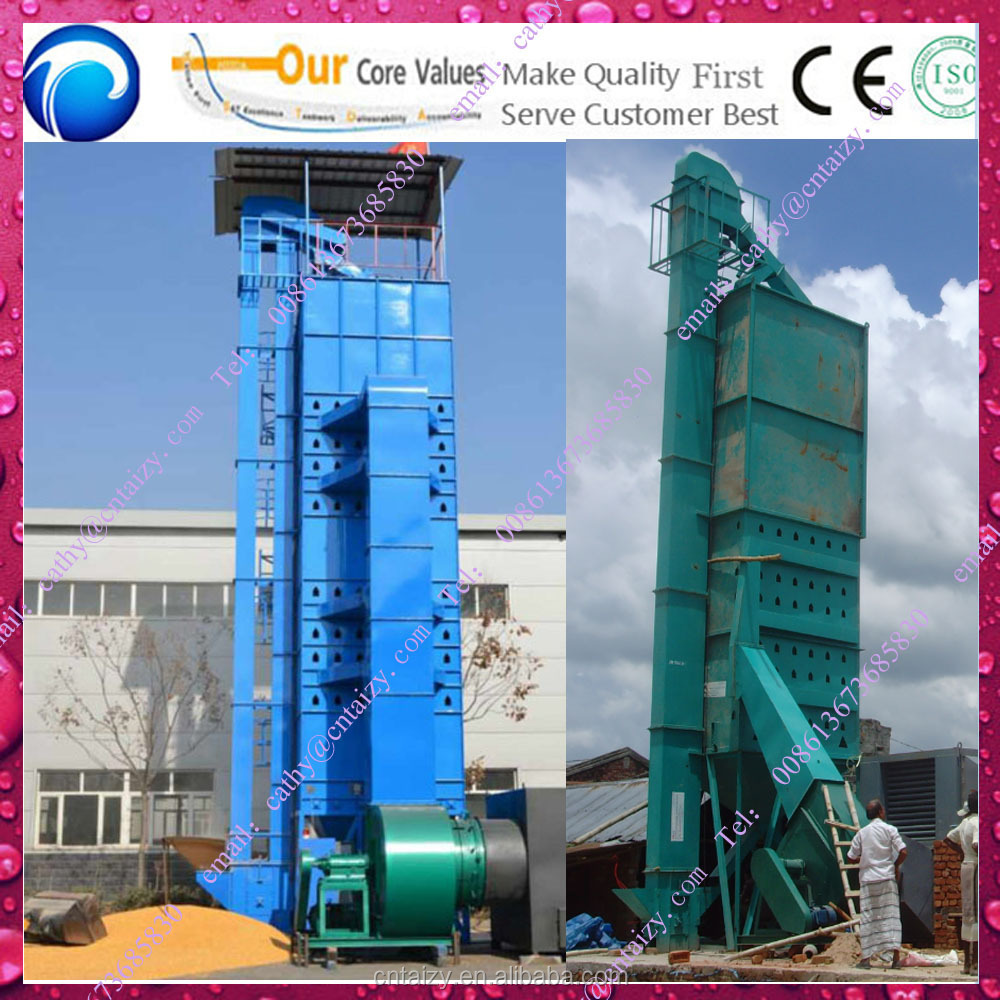 easy using automatic Hot Air corn seed drying equipment