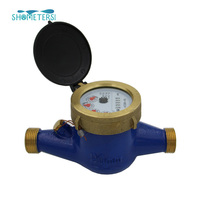 Best Sale Multi type brass body water meter price
