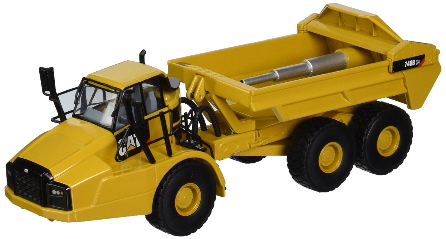 Get Quotations · Norscot Cat 740 Articulated Truck, 1:50 Scale