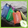 CUstomized 2L/5L/10L/15L/20L/30L transparent/translucent Grind arenaceous qualitative waterproof dry bag with shoulder strap,