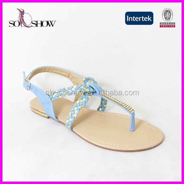 5d44251cca6 Best Selling Sandals 2018 Ladies Fancy Flat Sandal - Buy Ladies ...