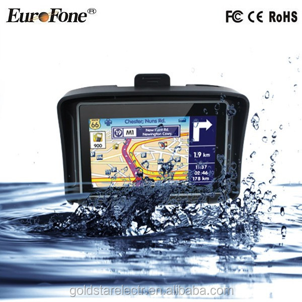 Waterproof Motorcycle Gps Navigator For Car And Motorcycle