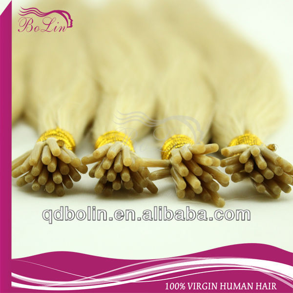 Alibaba Website 100% Human Hair I-Tip Hair Extension
