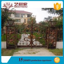 color recubiertos de metal barato puertas de jardn decorativas puertas de jardn de metal barato