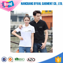 Wholesale short sleeve bulk blank couple polo shirts custom logo printed embroidered polo t-shirts for lovers