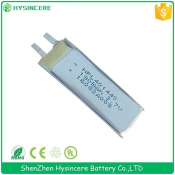 Flat Lithium Battery 401440 3.7v Li-ion Polymer Battery 3.7v ...