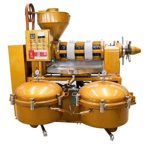 CIBU YZLXQ140 high capacity soybean sunflower combined oil press machine with pressure air filter and temperature and motor