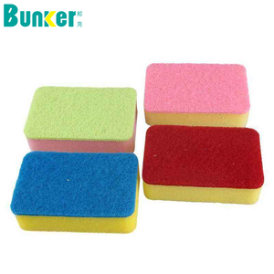 multi colors sponge scouring pad for cleaning color kitchen sponge scourer