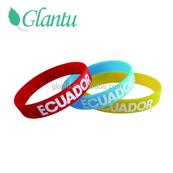 Factory OEM Design Silicone Mosquito Repellent Bracelets Rubber Bands