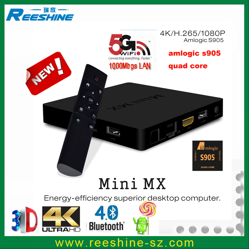 new 2016 best selling wifi <strong>tv</strong> smart box Amlogic S905 MINI MX 2g 16g vga output android <strong>tv</strong> box <strong>dongle</strong> stick