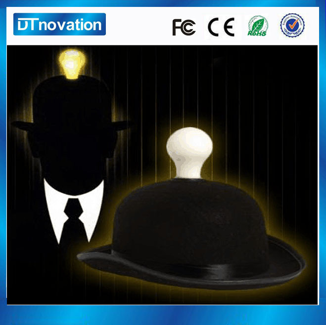 Supply Halloween LED flashing light party hats low price