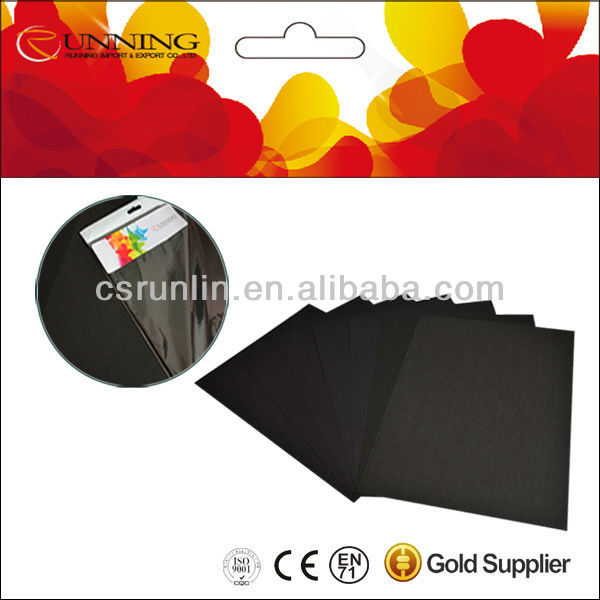 Recycle Pulp Black Card Paper from 80g to 300g