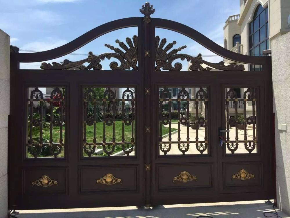 Indian House Laser Cut Main Gates /wrought Iron Driveway Gate ...