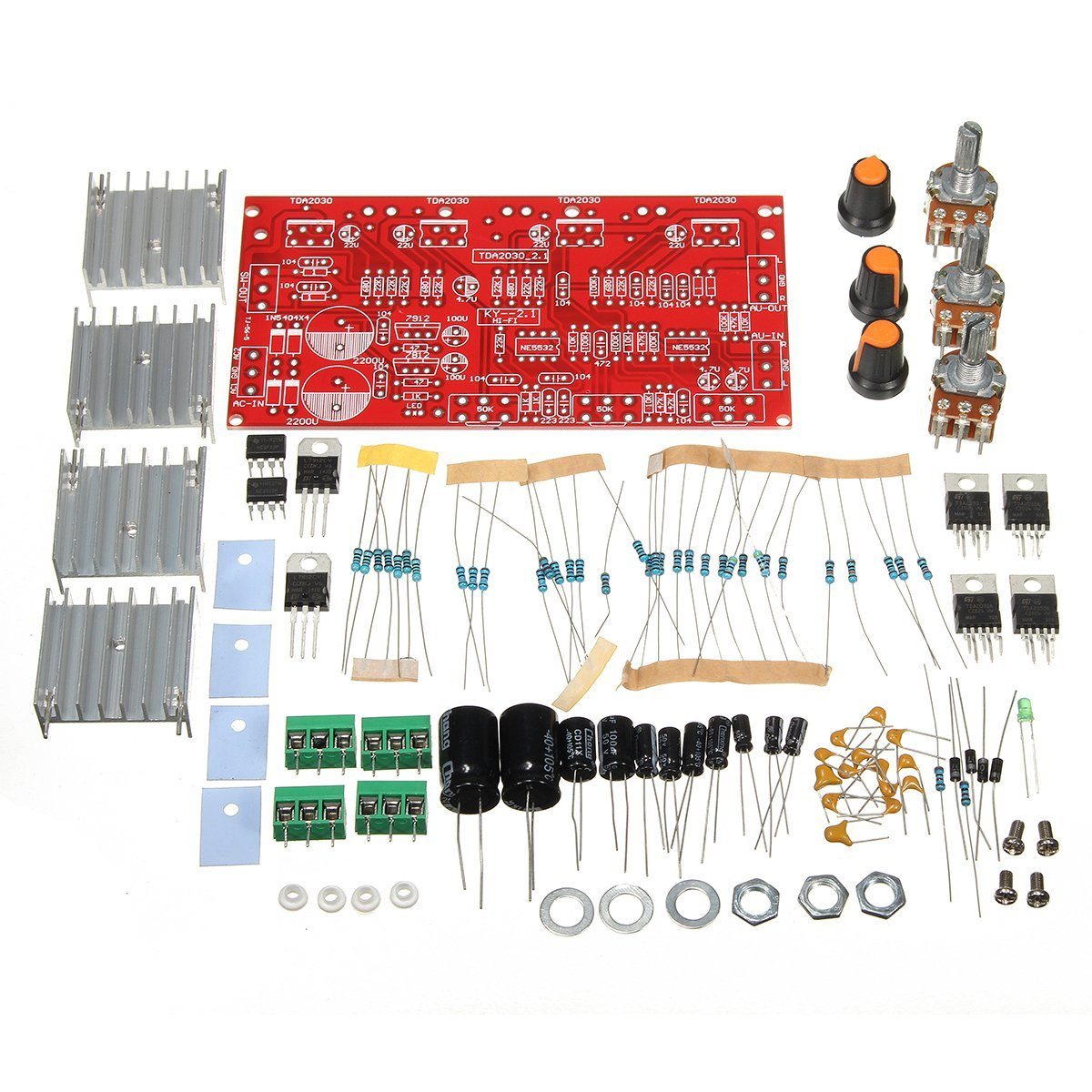 Cheap Amplifier Kit Diy Find Deals On Line At 300watt Subwoofer Power Wiring Diagram Electronic Schematic Get Quotations Bephamart 12v 30w Tda2030 Audio Board Dual Tracks