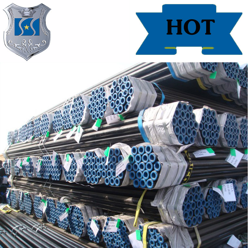 Galvanized tube/st52.4 /st37 steel tube astm a 53 grade b cold drawn seamless pipe Manufacturer preferential supply