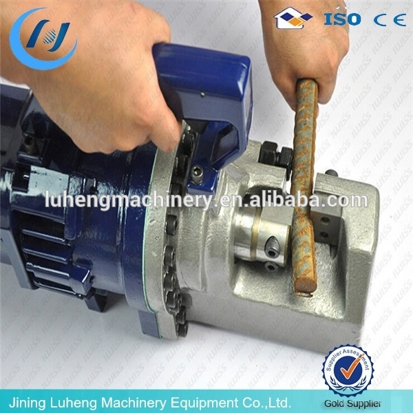 Industrial equipment LH50 hand operate portable small size steel bar cutting machine
