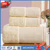 terry cloth factory customized 100 cotton towel set