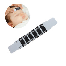 SCYL 5x Forehead Head Strip Thermometer Fever Body Baby Child Check Test Temperature