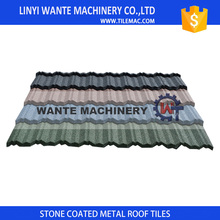 Wante metal tile roof cost shingles for roof construction and decoration with 2.7kg weight