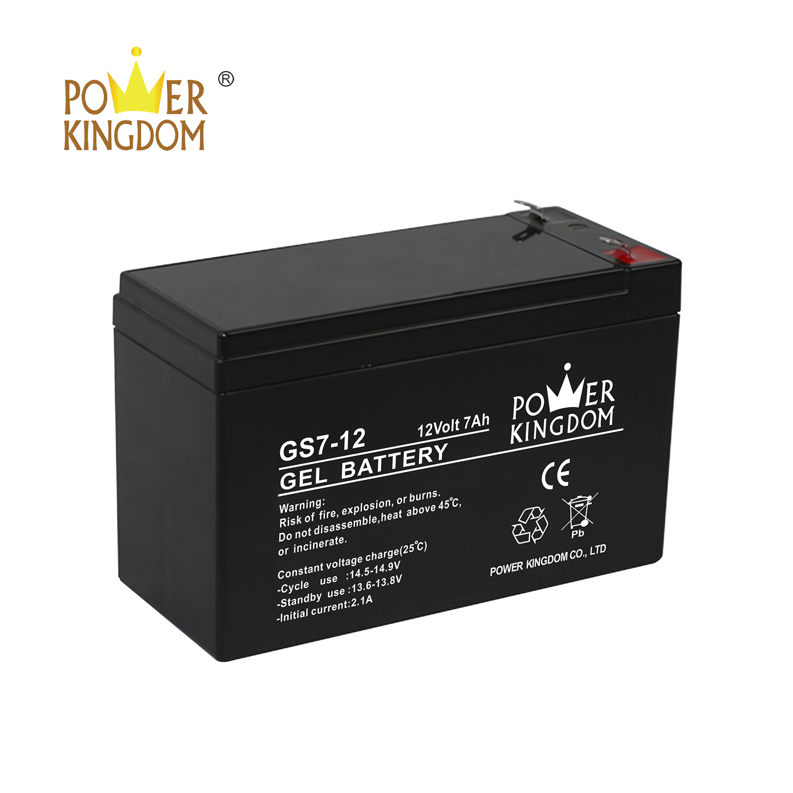 Power Kingdom regulated lead acid battery for business wind power system-2
