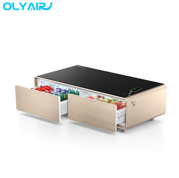 Refrigerator Coffee Table.Oem Brand Multi Function Refrigerator Coffee Table With 4 0 Bluetooth Speakers Buy Coffee Table Smart Mini Bar Multifunction Refrigerator Coffee