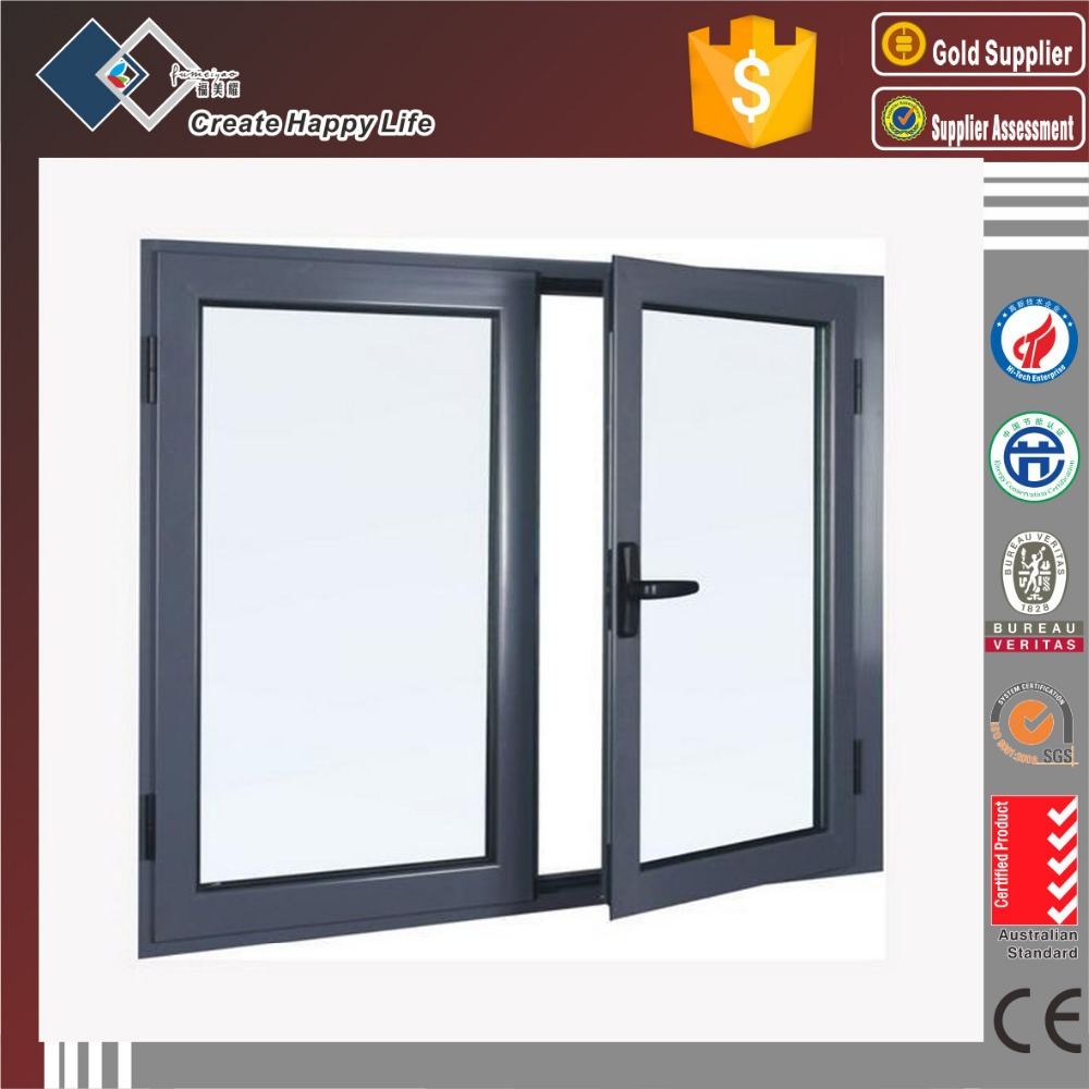 Australian standard double glazed aluminum frame vertical for Aluminum sliding glass doors price