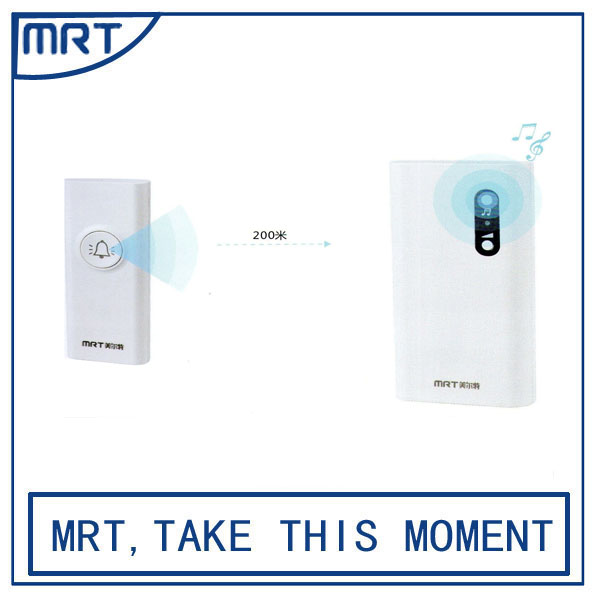 150m long range easy to clean smart wireless solar electronic control doorbell MRT205-122AB