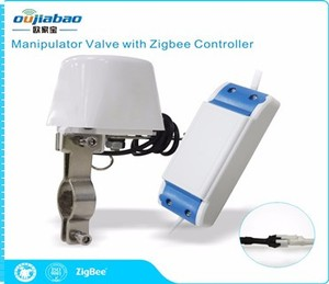 ZigBee Remote Controller with Manipulator Valve for Water or Gas Pipeline