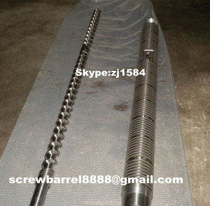 screw and barrel for PVC WPC Freely Foaming Rigid Decking Board Extrusion Line