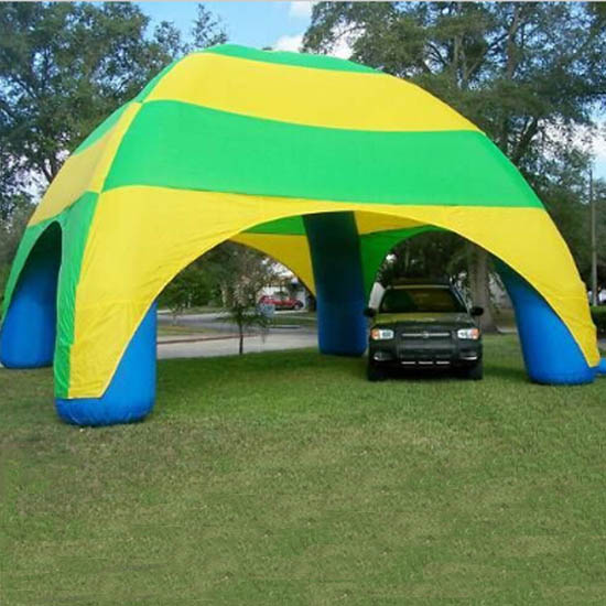 inflatable advertising tent with air blower for party