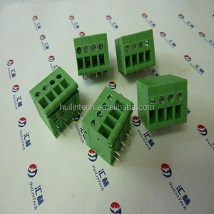 Screw fixed electrical components 7.5mm terminal block Shenzhen supplier