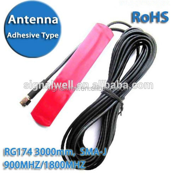 Signalwell Manufactory high quality vhf uhf 433mhz /868mhz/gsm/3g adhersive patch antenna Quality Choice