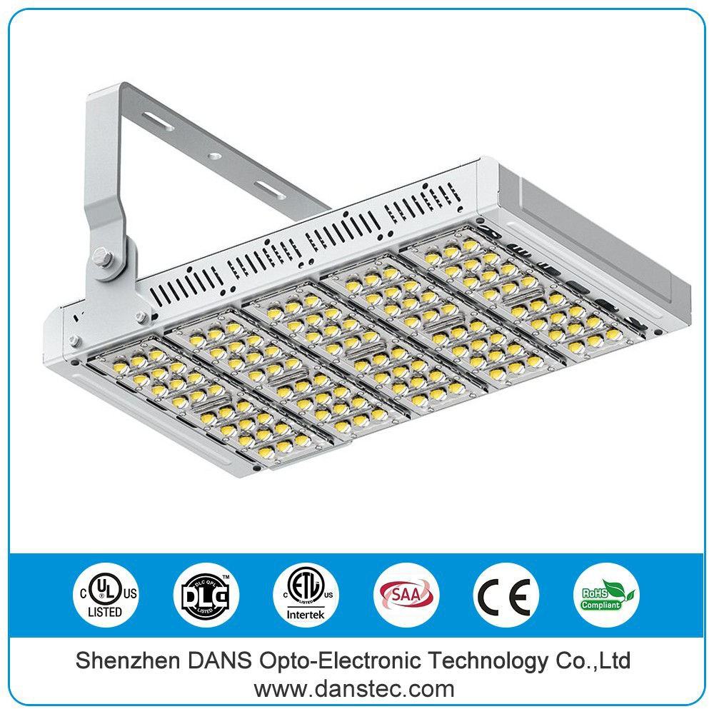 Danstec ETL DLC UL (E481495) 250w led flood light with meanwell driver industrial led commecial warehouse IP65 waterproof