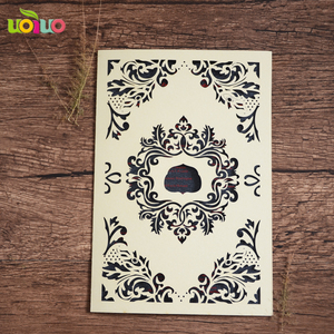 Wedding Favor Red Laser Cut Lace invitation card wedding supply supplier on promotion marathi wedding card matter