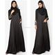 Latest new design fashion modern sequin dubai black abaya