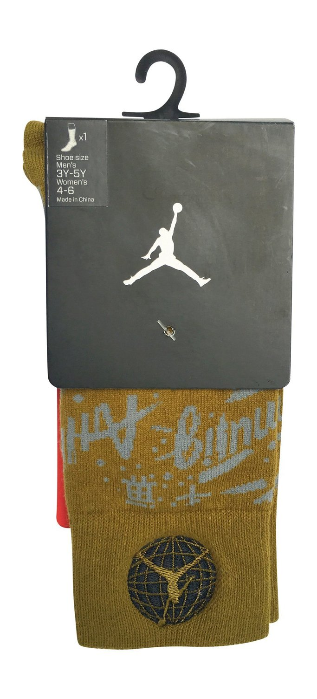 573b6cbbc4b3 Get Quotations · Air Jordan 9 Crew Socks 707549 - 356 size 3y-5y