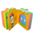 print die cut customized children cardboard book