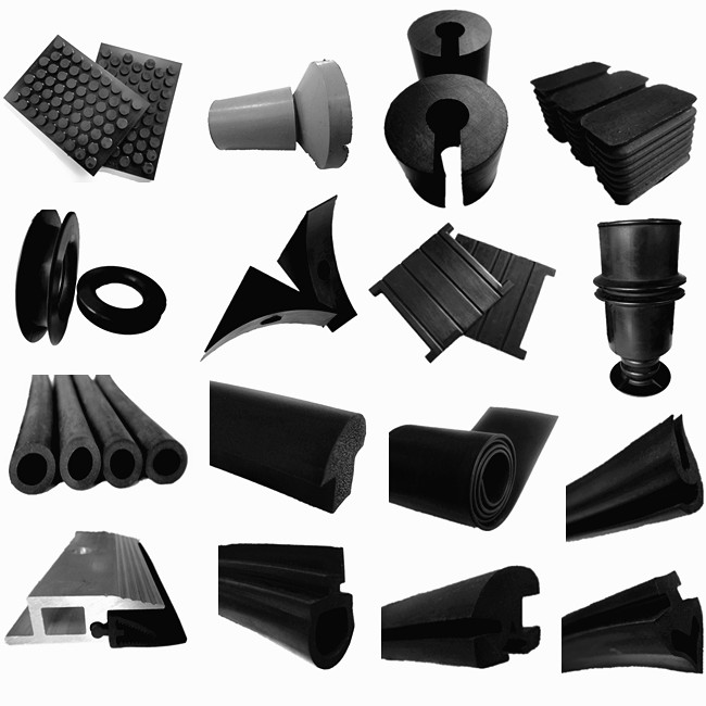 Jiangyin Huayuan supplys EPDM/silicone/NR/NBR/CR(Neoprene) epdm rubber profile