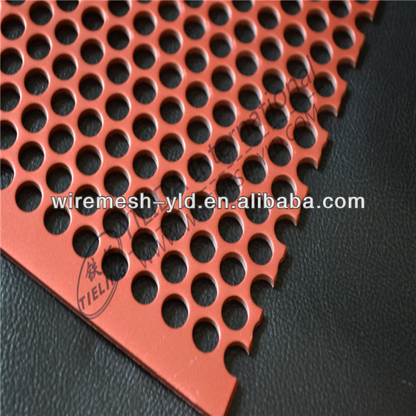 Perforated Sheet Factory Export ISO9001/BV Certificate / Spray Plastic Perforated Metal Mesh
