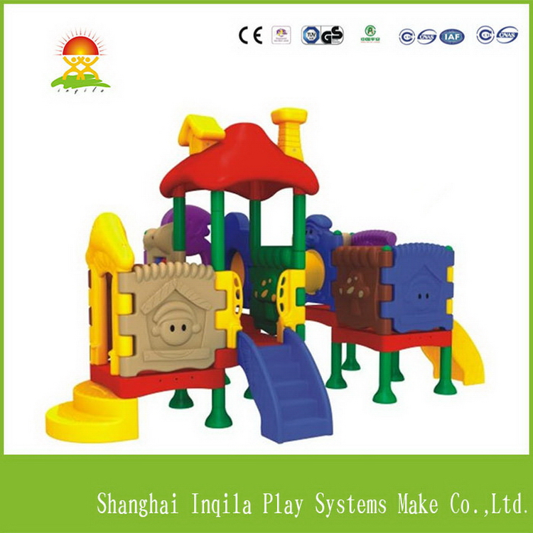 Best quality most popular kids plastic toy slide and swing sets