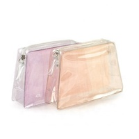 Factory good quality recyclable clear pvc bag with zipper