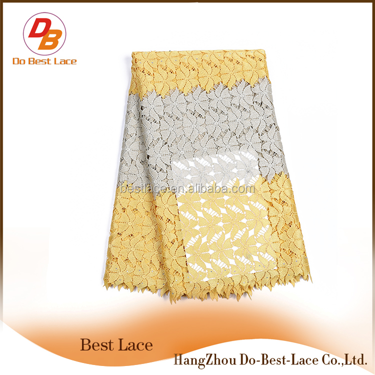 New Trending Wedding Dress Corded Lace With OEM Service