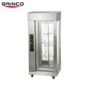 Commercial stainless steel gas chicken oven rotisseries